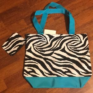 NWT tote bag with attached coin pouch.
